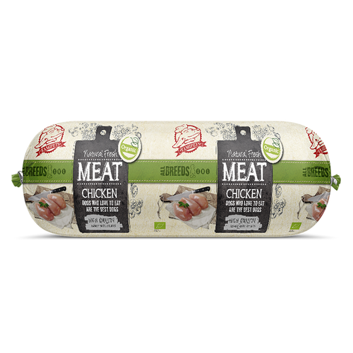 Natural Fresh Meat Bio - Saucisses Poulet 12 x 600 g - Oscar and Kitty