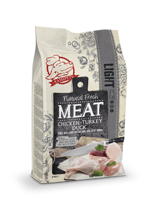 Natural Fresh Meat - Croquettes Light pour Chien Senior 2 x 2 kg - Oscar and Kitty