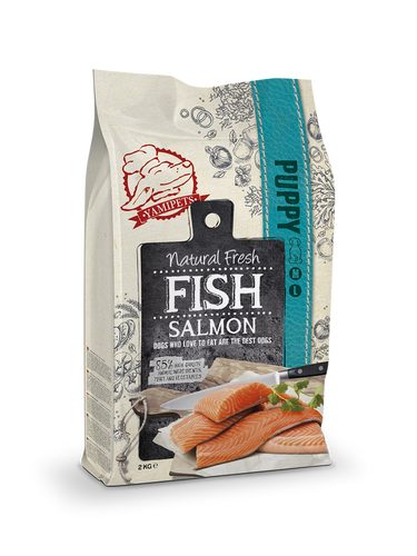 Natural Fresh Fish - Croquettes pour Chiot au Saumon 12 kg - Oscar and Kitty