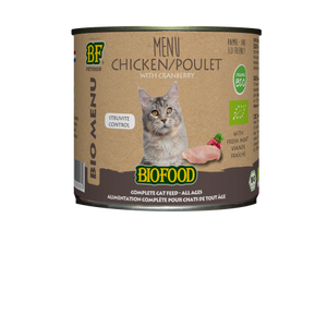 Biofood - Menu pour chats à base de poulet (12 x 200 gr) - Oscar and Kitty