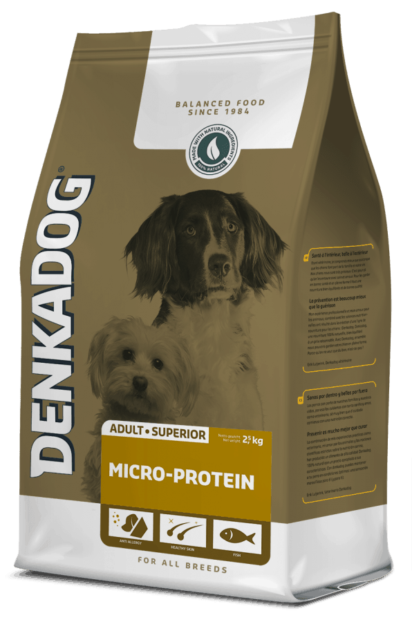 Denkadog Micro Protein - 12,5 kg - Oscar and Kitty
