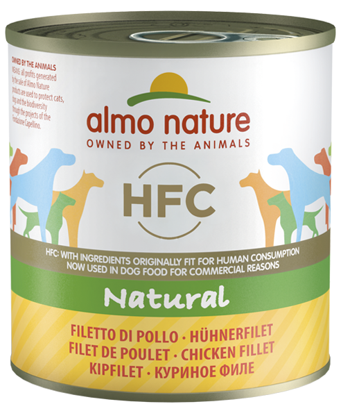 Almo Nature Classic - Filet de poulet (24 x 280g) - Oscar and Kitty
