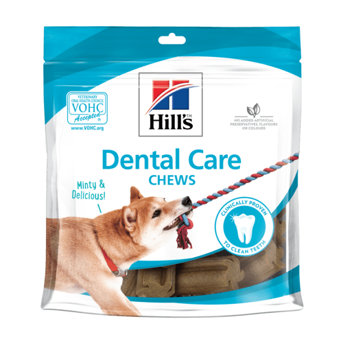 Hill's Dental Care Chews Dog Treats (12 x 220 gr) - Oscar and Kitty