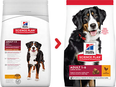 Hill's Science Plan Canine Adult Large Breed au Poulet (18 kg) - Oscar and Kitty