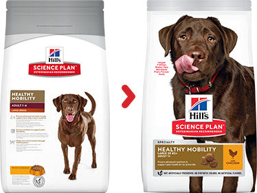 Hill's Science Plan Canine Adult Healthy Mobility Large Breed au Poulet (12 kg) - Oscar and Kitty