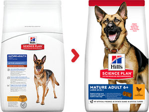 Hill's Science Plan Canine Mature Adult 6+ Large Breed au Poulet (12 kg) - Oscar and Kitty