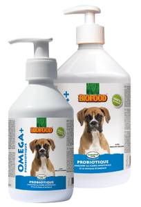 Biofood - Omega+ Probiotique (2 x 250ml) - Oscar and Kitty