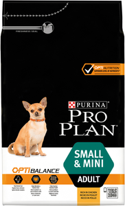 PRO PLAN - Small & Mini Adult avec OPTIBALANCE Riche en Poulet (4 x 3 kg) - Oscar and Kitty