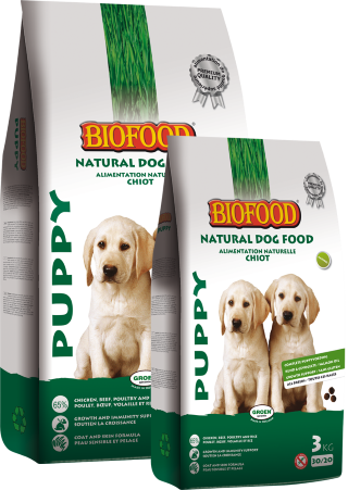 Biofood - Puppy (12,5 kg) - Oscar and Kitty