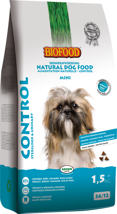 Biofood - Control Mini (4 x 1,5 kg) - Oscar and Kitty