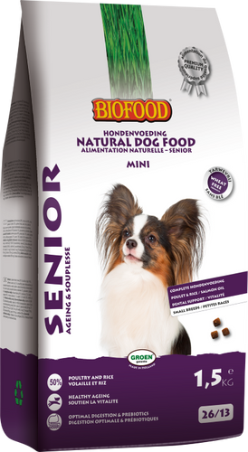 Biofood - Senior Mini (4 x 1,5 kg) - Oscar and Kitty