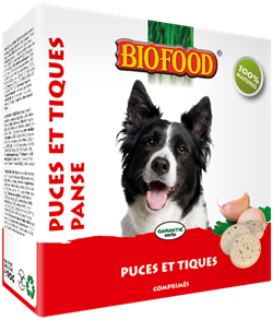 Biofood - Puces et Tiques à la Panse - 16 Boites - Oscar and Kitty