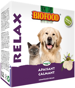 Biofood - Relax - 16 Boites - Oscar and Kitty