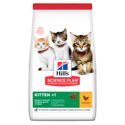 HILL'S SCIENCE PLAN Aliment pour Chaton Poulet - 6 x 1,5kg - Oscar and Kitty