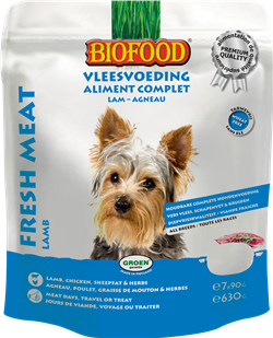 Biofood - Aliment Complet Agneau (8 x 630 gr) - Oscar and Kitty