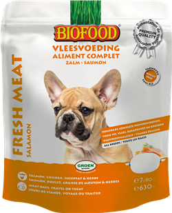 Biofood - Aliment Complet Saumon (8 x 630 gr) - Oscar and Kitty
