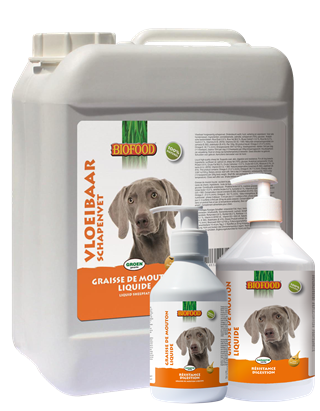 Biofood - Graisse de Mouton Liquide (2 x 500 ml) - Oscar and Kitty