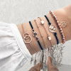 "Charm Bracelet ""Maria's Signature"" (set of 6)"