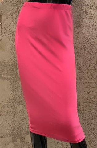 Pencil Skirt -Fuchsia