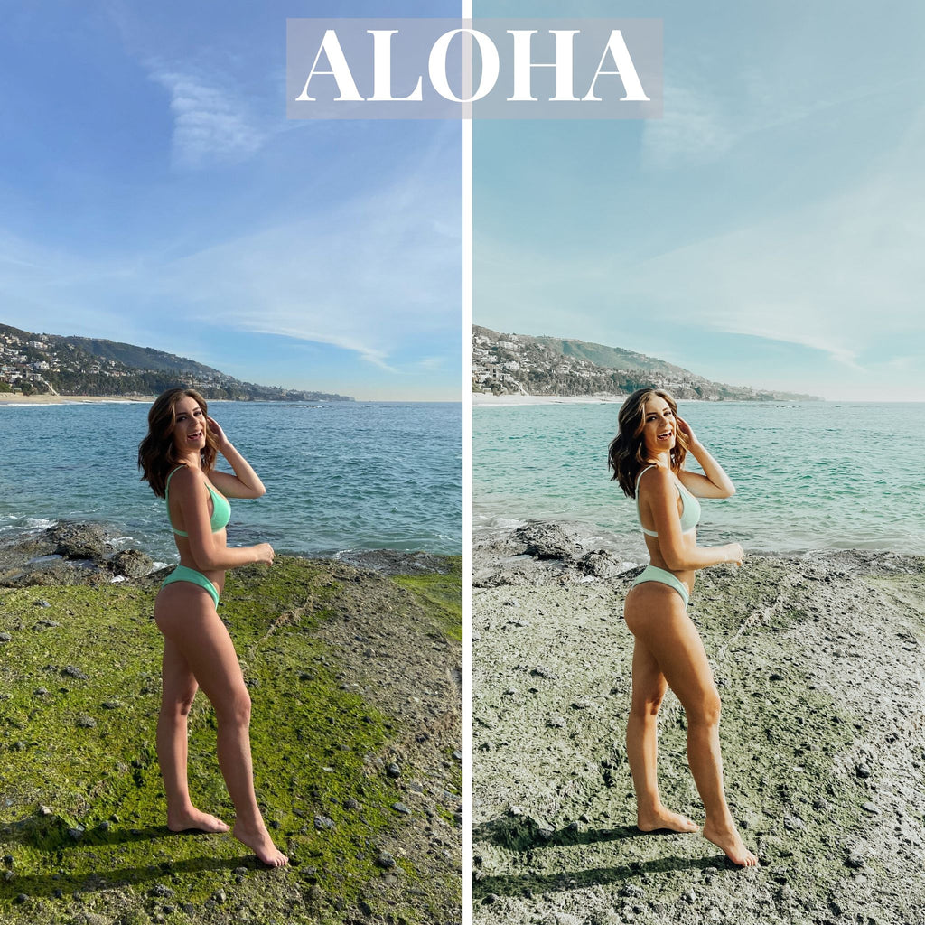 OLIE WEST Summer Preset: ALOHA - Olie West