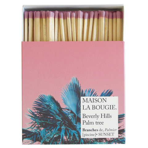 BEVERLY HILLS PALM TREE matches | Maison La Bougie