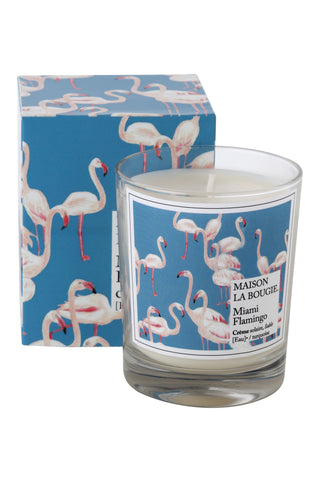MIAMI FLAMINGO candle | Maison La Bougie