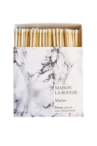 MARBRE matches | Maison La Bougie