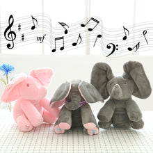 Load image into Gallery viewer, Music plush elephant, Hide-and-seek game Electric toys