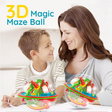 Load image into Gallery viewer, 3D stereo maze ball