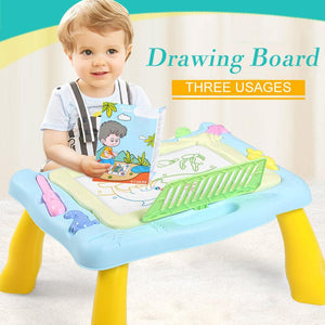 Magnetic Drawing Board Table