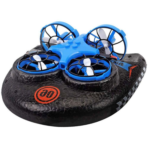 Sea, Land and Air Amphibious Mini Drone Remote Control Car Simulation Hovercraft