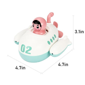 Submarine Clockwork Bathing Toy