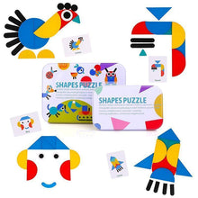 Load image into Gallery viewer, Educational Toy—Shape Puzzle
