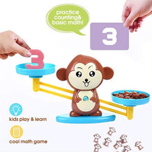 Load image into Gallery viewer, Monkey Balance Cool Math Game for Girls & Boys