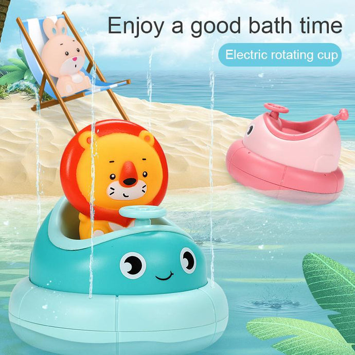 Rotating Baby Bath Toy