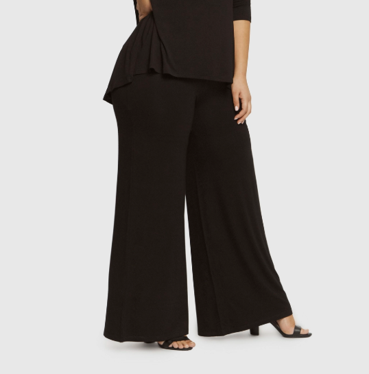 luxe wide leg pant