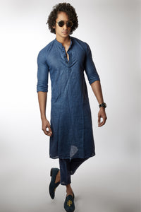 Kurta with Ankle Length Pant - hilo-design