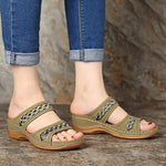 DE - Ladies Vintage Fancy Open Toe Sandals (2020 Collection)