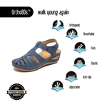 Ortho80s™ - Premium Retro Orthopedic Round Toe Sandals