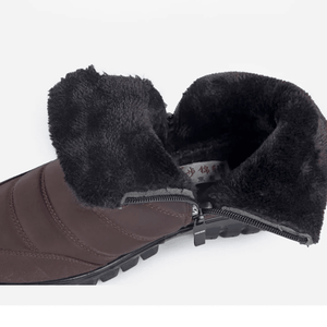 Winter Plus - Men's Velvet Warm Non-slip Shoes