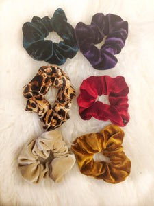 Gemstone Scrunchie
