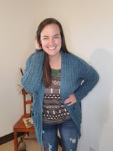 Load image into Gallery viewer, Poppy Teal Sweater