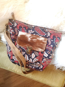 Pretty Paisley Shoulder Purse