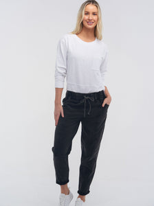Lulu Organic Cotton Soho Jean - Black