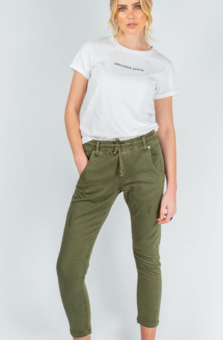 Dricoper Active Khaki - Relaxed Fit