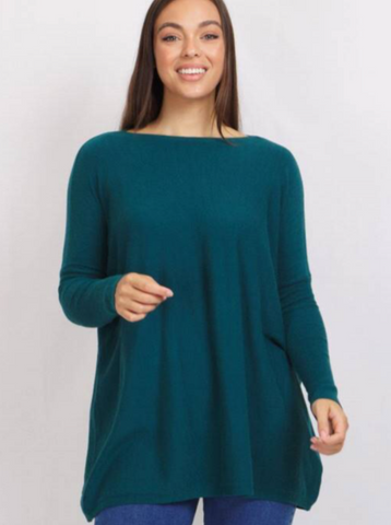 Abby Oversized Knit - Teal