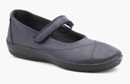L18 Arcopedico Slip on Shoe - Navy