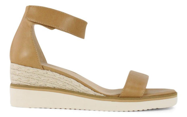 Effegie - Lazy Espadrille Wedge - Tan
