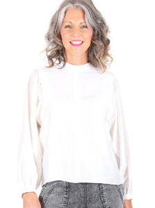 Olga de Polga Moonstone Blouse - Off White