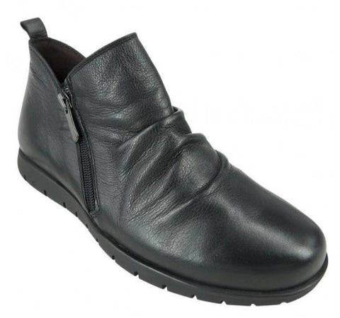Zeta Malita Ankle Boot Side Zipper - Black